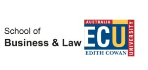 Edith Cowan University School of Business & Law logo